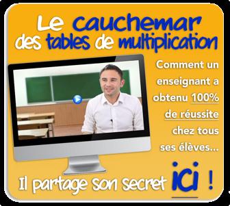 Apprendre les tables de multiplication - Comment apprendre les tables de multiplications ...
